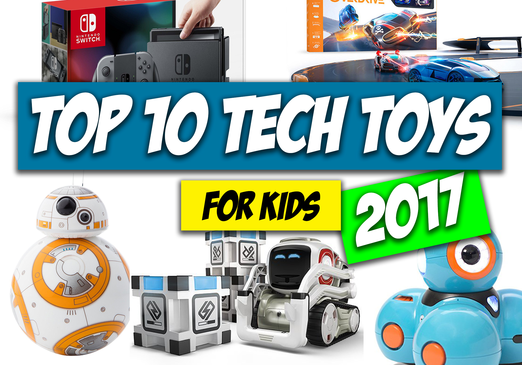Top 10 Tech Christmas Gifts For Kids — Learn How
